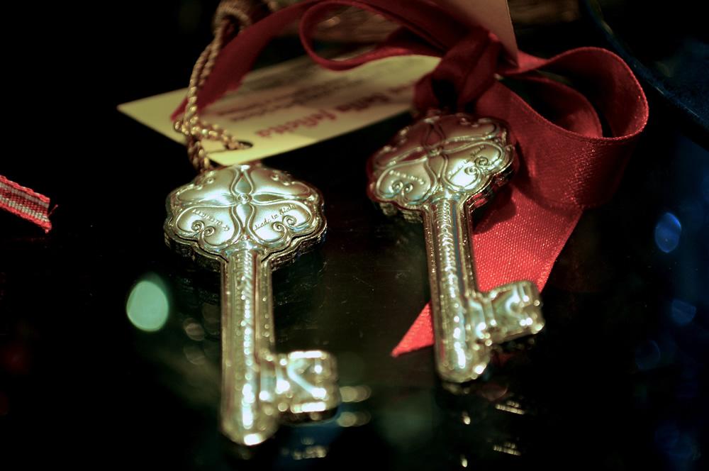 Chiavi in argento