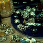 Oggetti in argento e cristallo